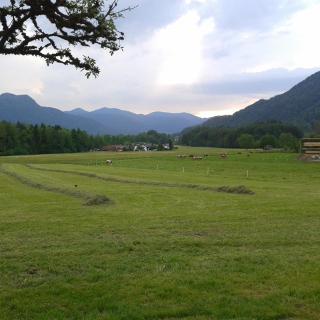 Blick nach Rottach-Egern auf dem Rückweg