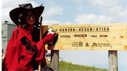 Hexe am Brocken