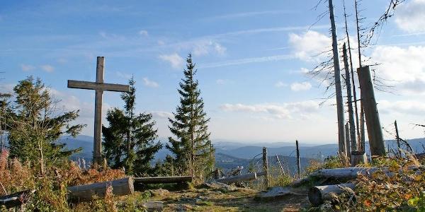 Siebensteinkopf-Gipfelkreuz