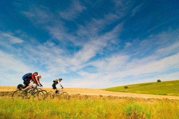 La Bretagne à vélo.