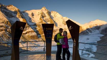 Startplatz Kaiser-Franz-Josefs-Höhe mit Großglockner