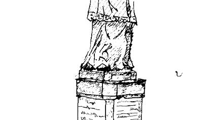 Nepomuk Standbild in Löningen