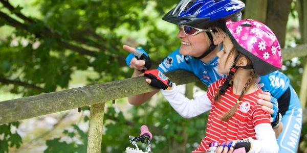 Vor allem kleinere Radfahrer lassen sich bestimmt von dieser Radtour begeistern.