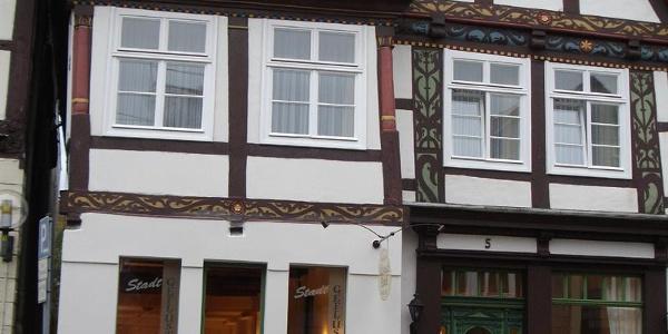 Außenansicht Altstadthotel Detmold