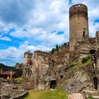 Ruine Kollmitz Ritterweg Raabs