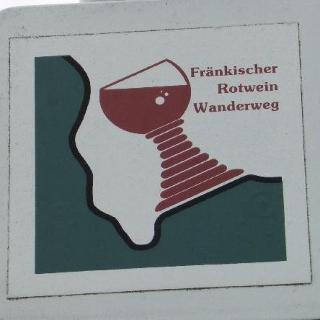 Symbol des Wanderweges