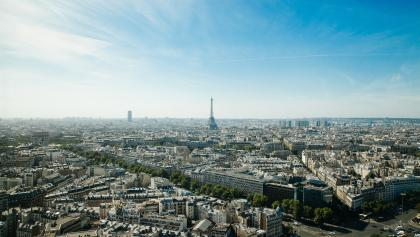 das Stadtbild Paris