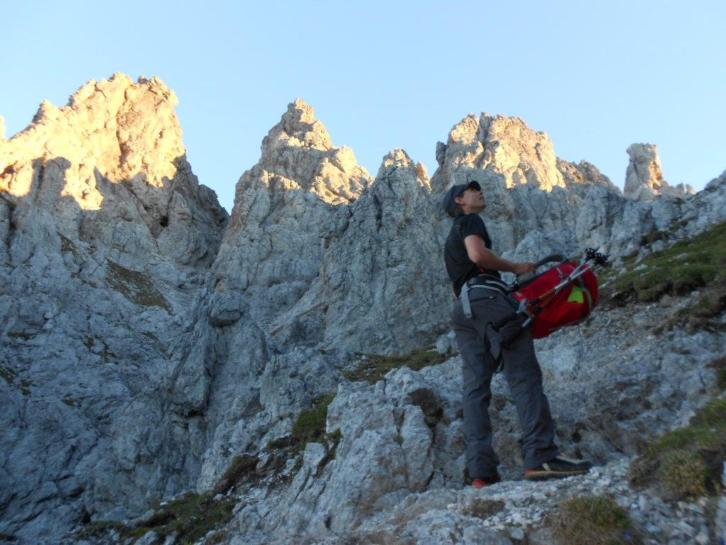 Klettersteig Hochkönig : Klettern am klettersteig merian