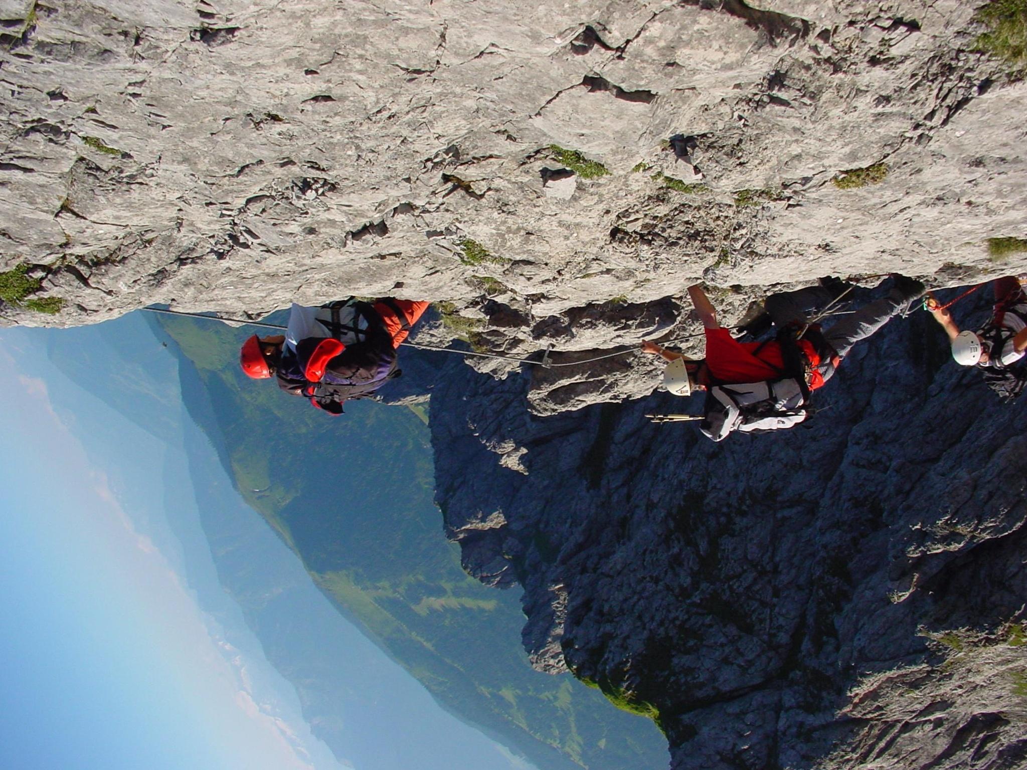Klettersteig Hochkönig : Klettersteig grandlspitz Österreichs wanderdörfer