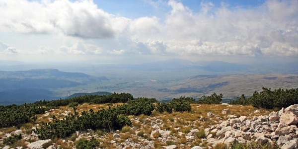 Pogled s Vrana na Duvanjsko polje