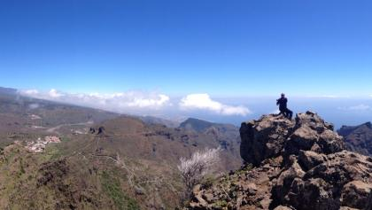 Rundblick bis Gomera