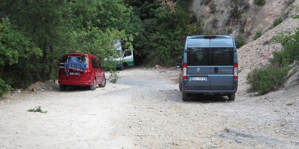 Parkplatz Perti