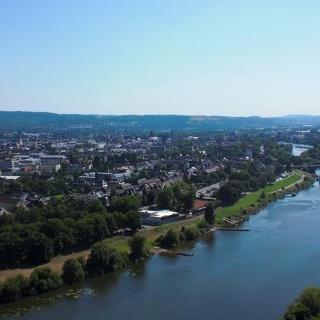 Eifelsteig Etappe 15: Kordel - Trier_Blick auf Trier