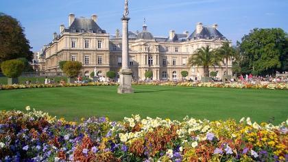 Jardin du Luxembourg mit dem gleichnamigen Palais