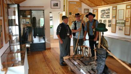 Ausstellung des Flößereimuseums Uhlstädt