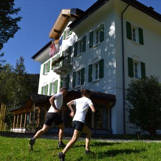 Villa Welsperg sede dell'Ente Parco Naturale Paneveggio Pale di San Martino