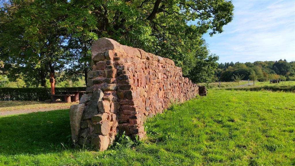 Foto: Römische Langmauer