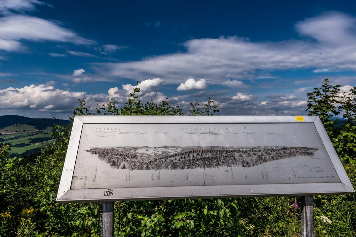 Schild beim Hornbergbecken