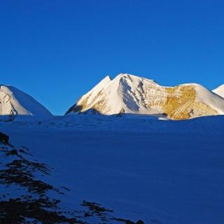 Im nördlichen Passlager am Saribung La (5700 m)