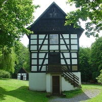 Backhaus auf dem Museumshof
