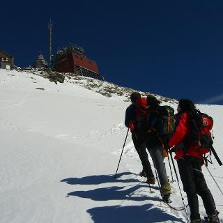 Gipfelanstieg zum Sonnblick mit dem Zittelhaus