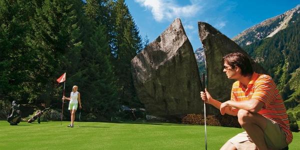 Golfen auf dem höchst gelegenen Golfplatz Vorarlbergs