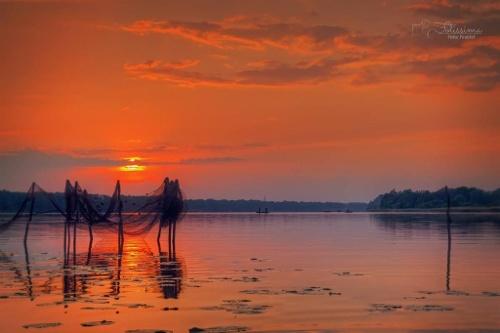 Ruppiner See Sonnenuntergang