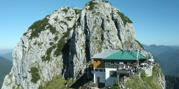 Die Tegernseer Hütte.