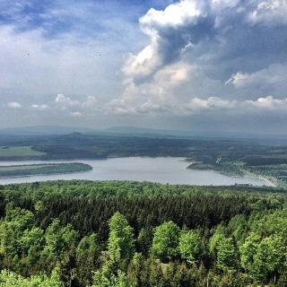 Blick vom Jelení hora