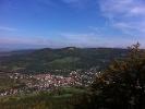 Blick vom Gräbelesberg in Tal