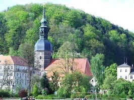 Foto Die Johanniskirche in Bad Schandau.