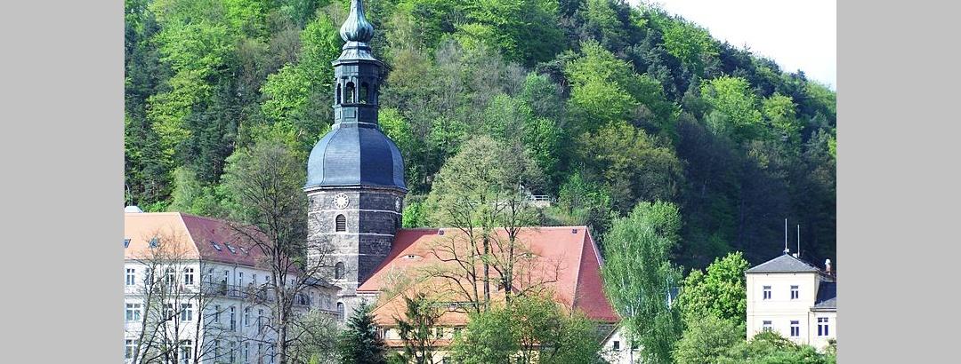 Die Johanniskirche in Bad Schandau