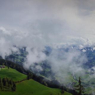 Blick vom Reither Kogel Richtung Zillertal