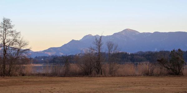 Die Berge zum Greifen nahe
