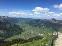 Blick ins Tal © Tourismusverband Tannheimer Tal