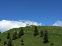 Das Gipfelkreuz © Tourismusverband Tannheimer Tal