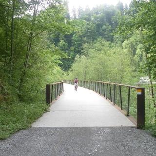 Achtalweg Brücke bei Egg