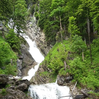 Wasserfall in Schoppernau