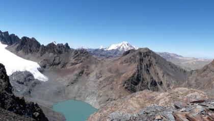 Cerro Austria und Huayna Potosi (Cordillera Real)