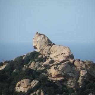 Der Löwenkopf-Felsen