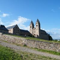Die Abtei St. Hildegard wurde zwischen 1900 und 1904 erbaut.