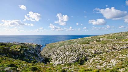 Ausblick auf die maltesische Küste