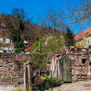 Reste der Stadtmauer