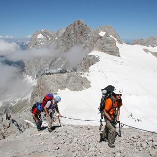 Klettersteig Irg