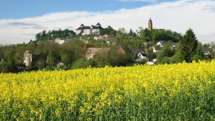 Blick auf Augustusburg