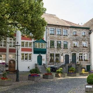 Eifelsteig - Kornelimünster: Korneliusmarkt