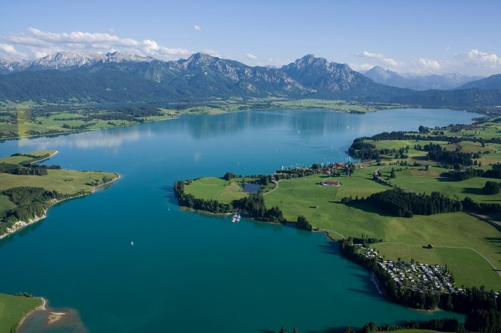 Blick auf den Forggensee - @ Autor: Andreas Greil - © Quelle: Allgäubild Mediengestaltung
