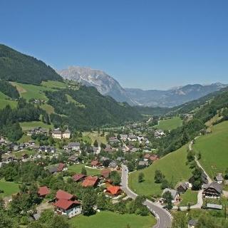 Ein Blick auf Donnersbach