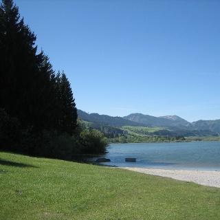 Grüntensee-Ufer mit Aussicht