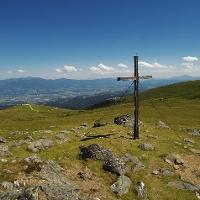 Saualpe- Blick zur Wolfsberger Hütte